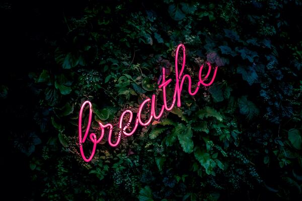 Breathe. Find inner peace through the breath.