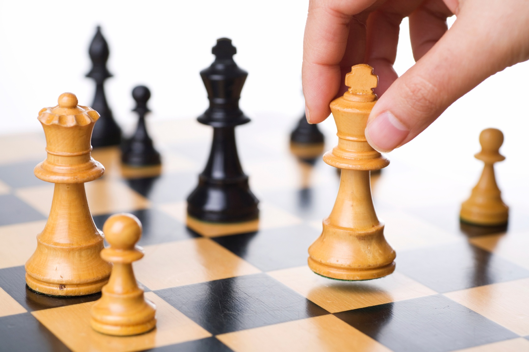Chess is challenging and has many moves just like relationships
