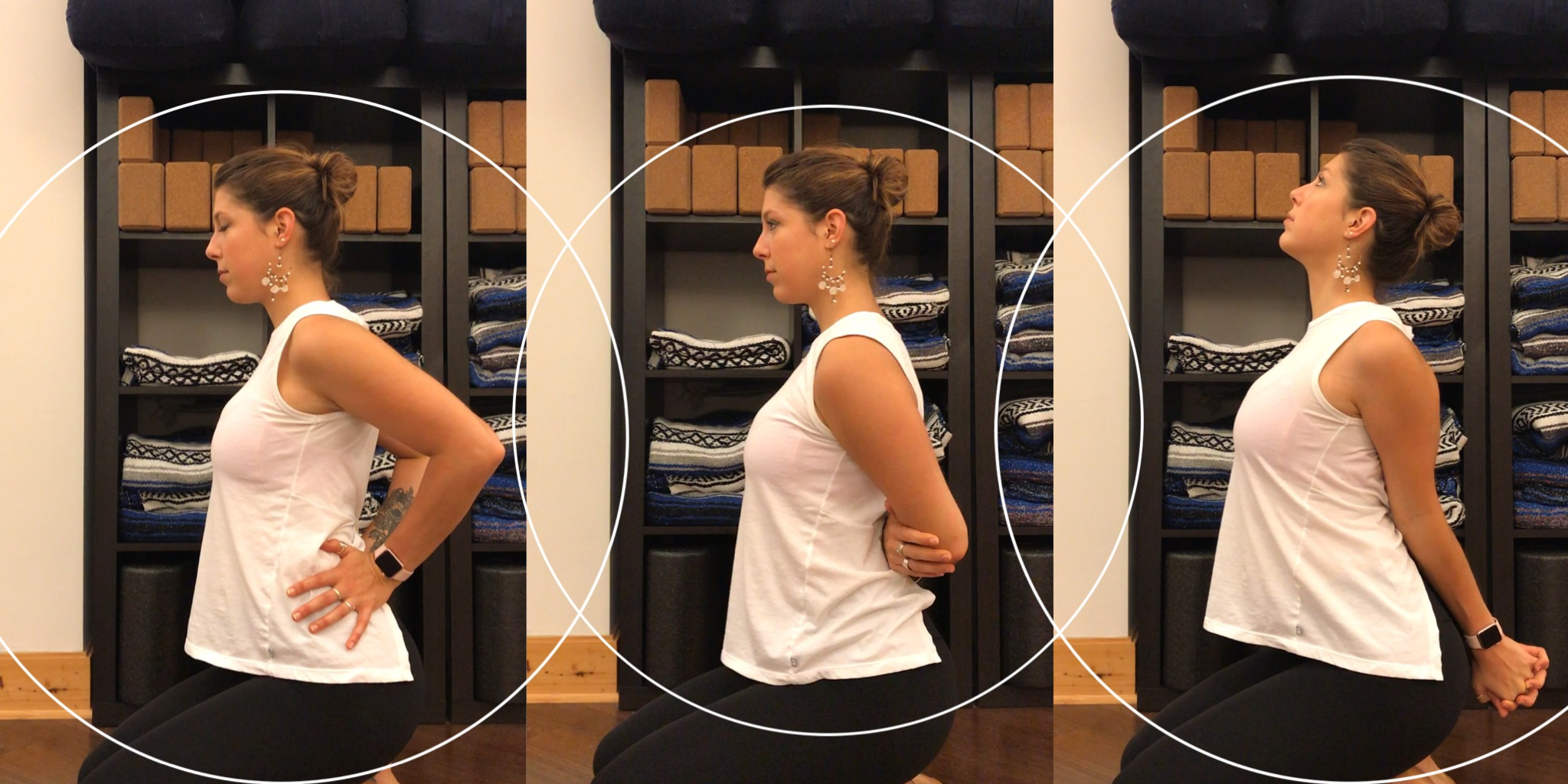 Chest expansion to do at your desk