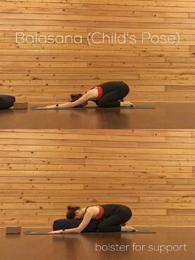 yoga poses for grounding and relaxation