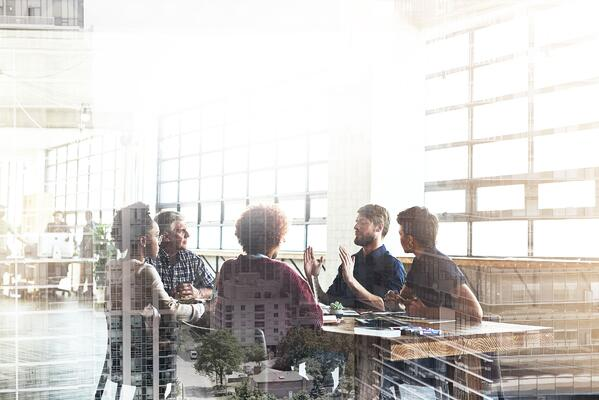 A business meeting at a empathetic workplace