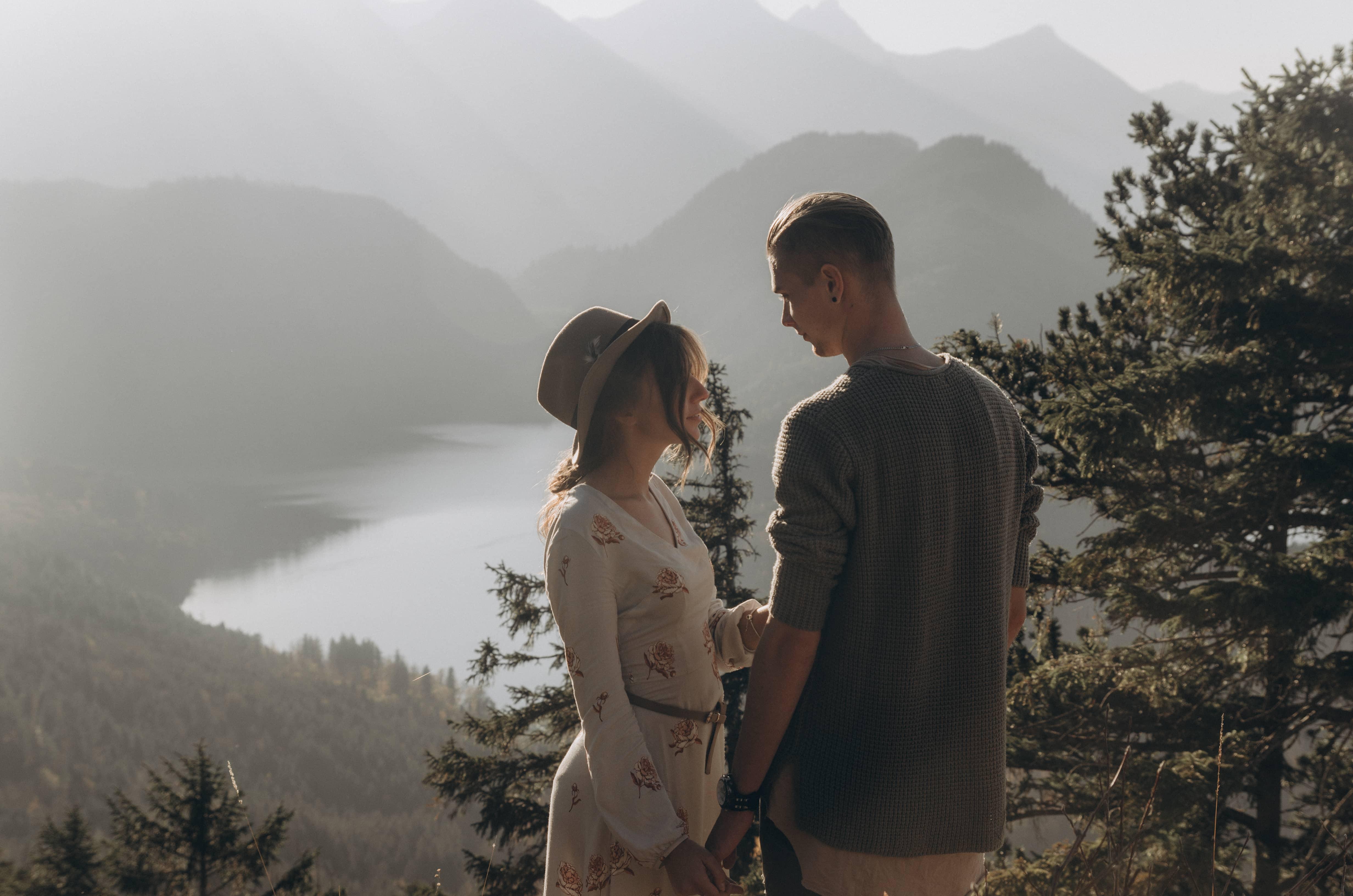 Mountaintop elopement