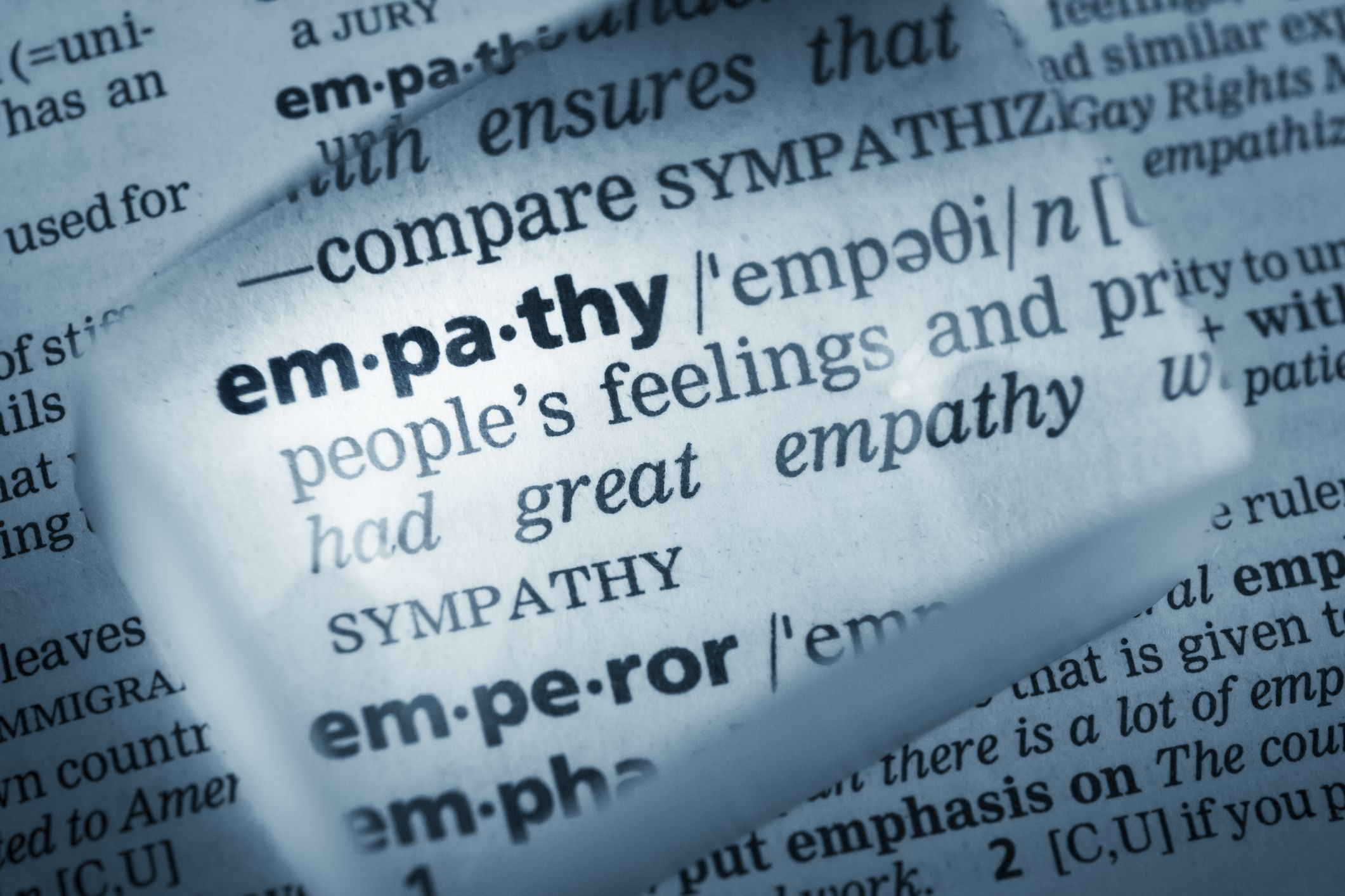The definition of empathy