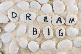 Dream big but start small