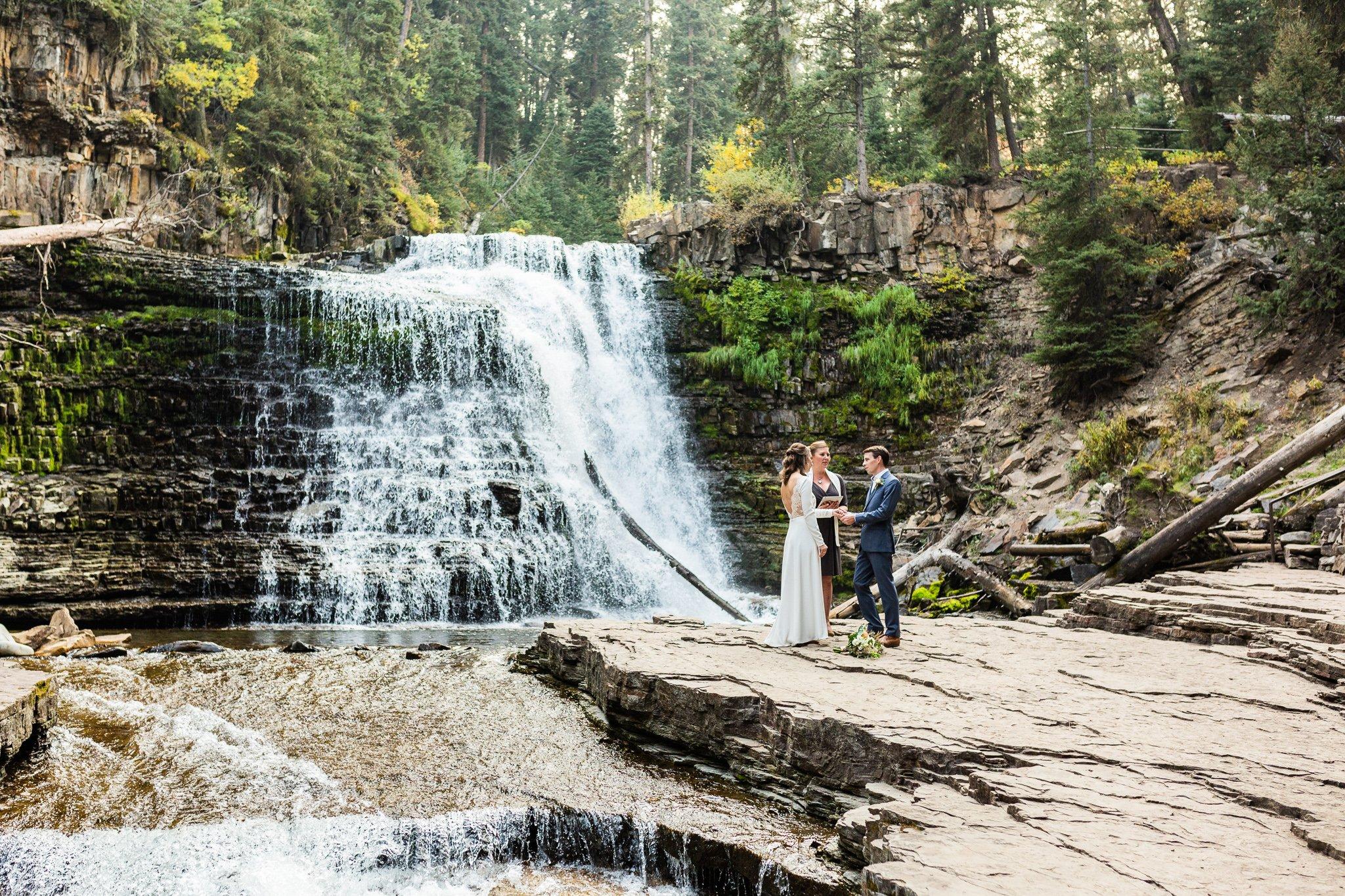 Destination wedding and elopement
