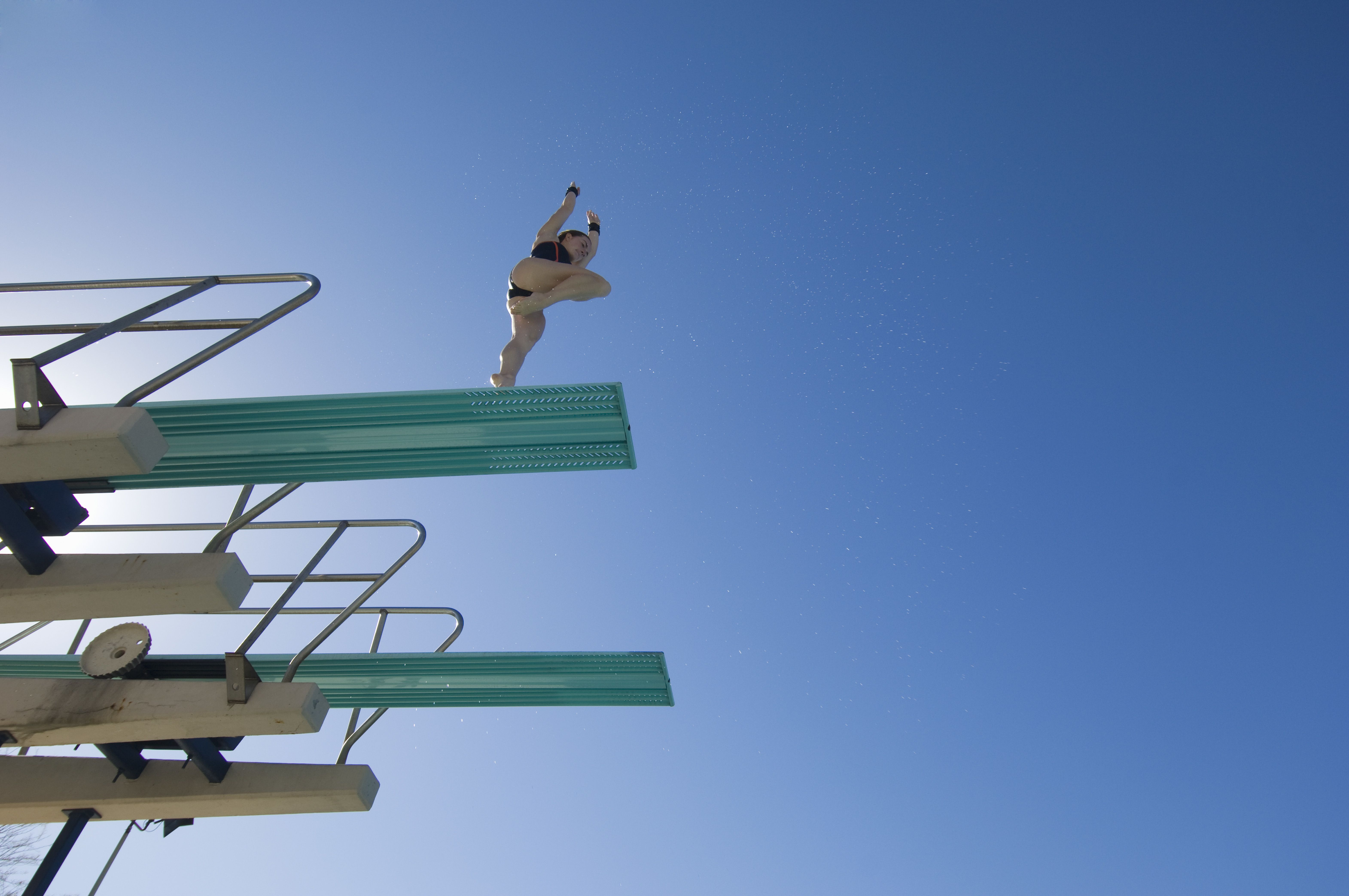 Springboard diving as a metaphor for visualization