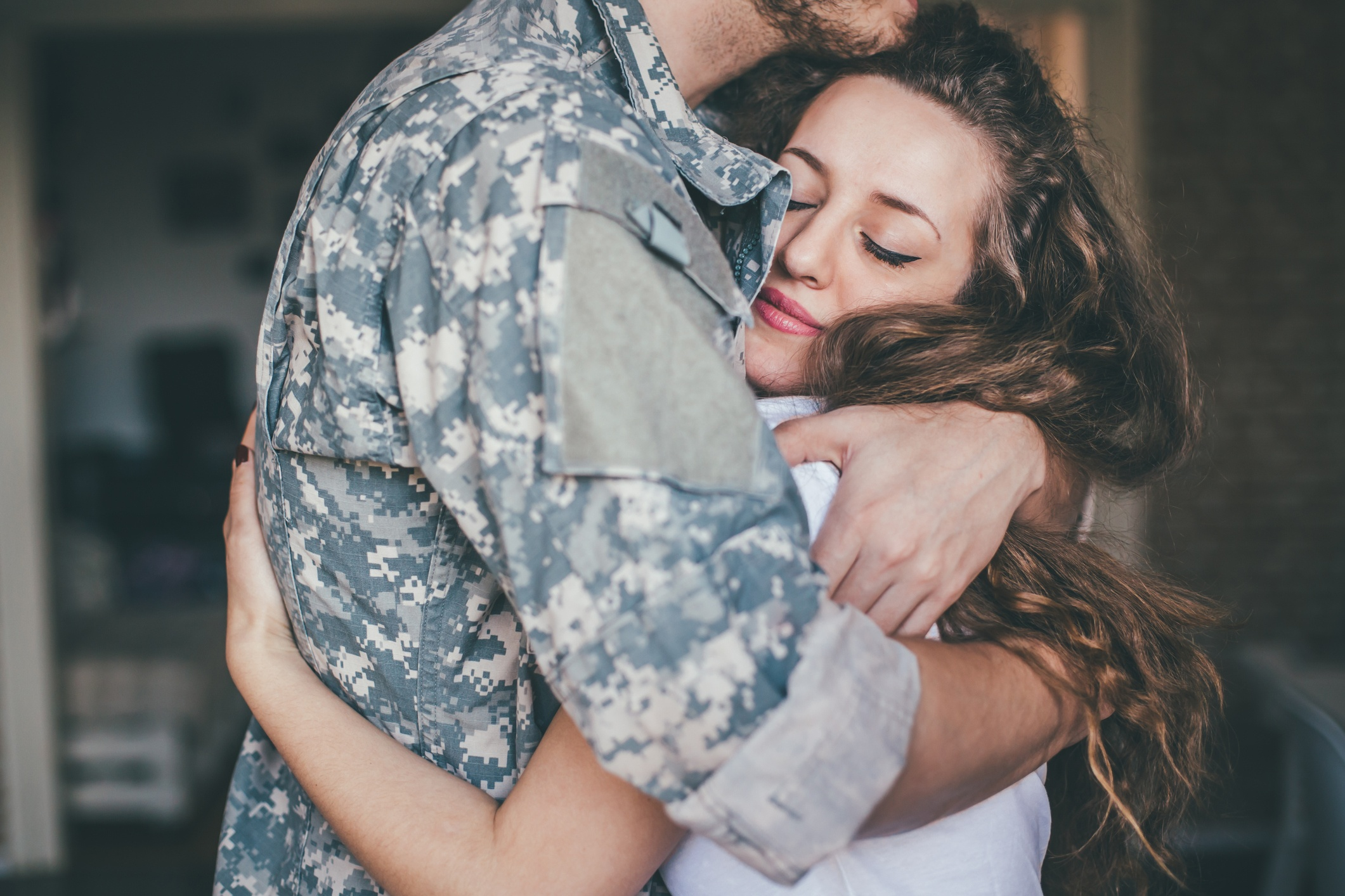 My military man is home at last