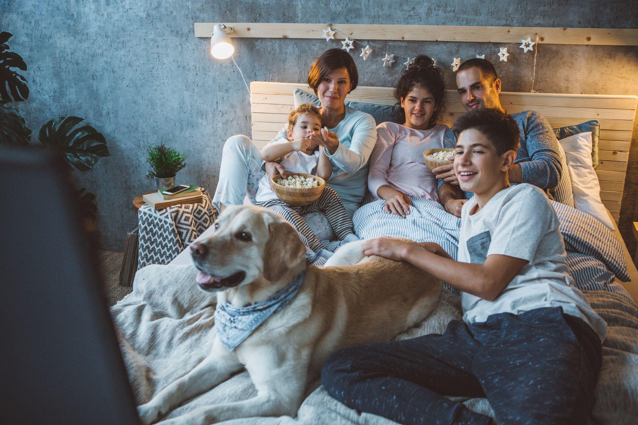 A family night ritual creates family fun and closeness