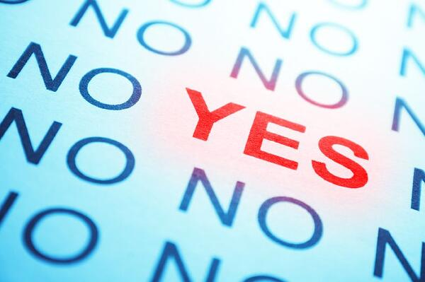 Why do we say yes when we mean no?