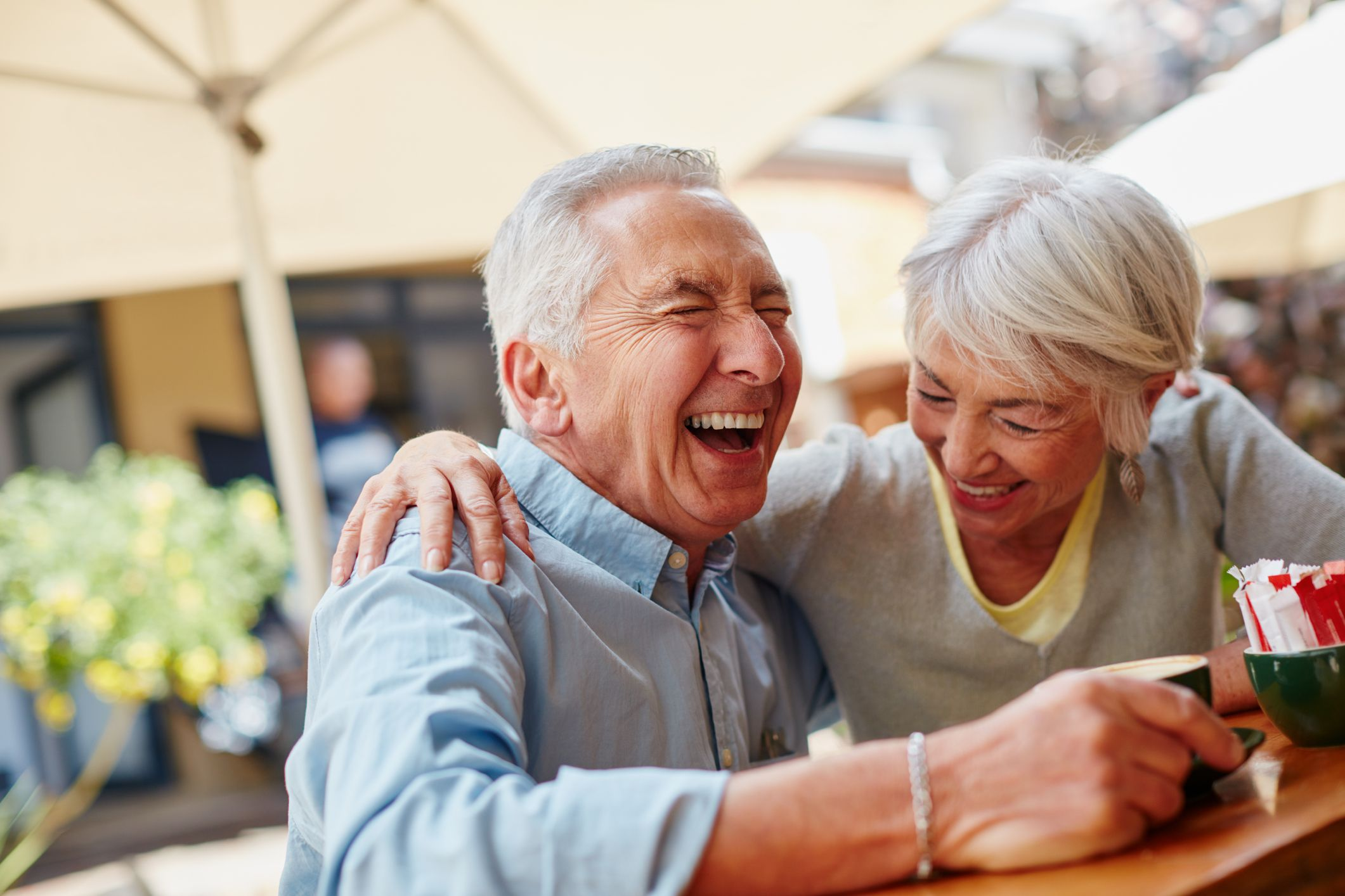Laughter in relationships builds resiliency