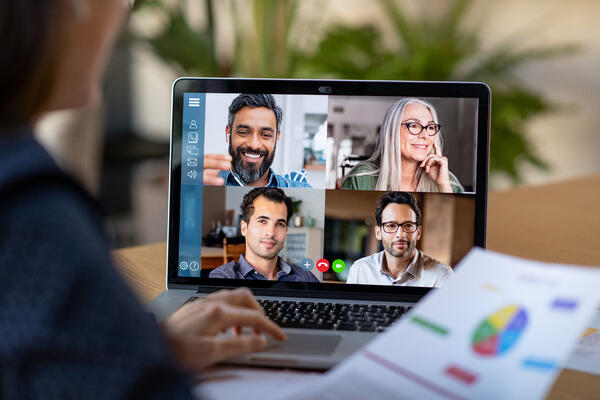 Empathy is applied with virtual Zoom meetings to help connect