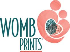 WombPrints_Logo_FullColor wCircleR