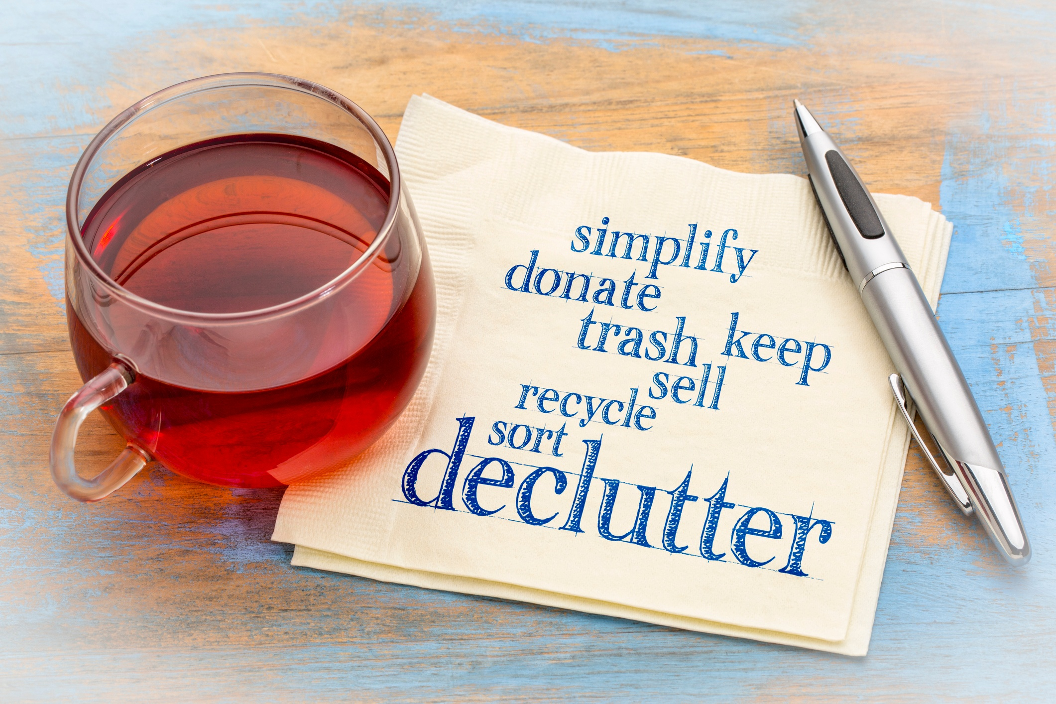 Decluttering and Spring cleaning are near