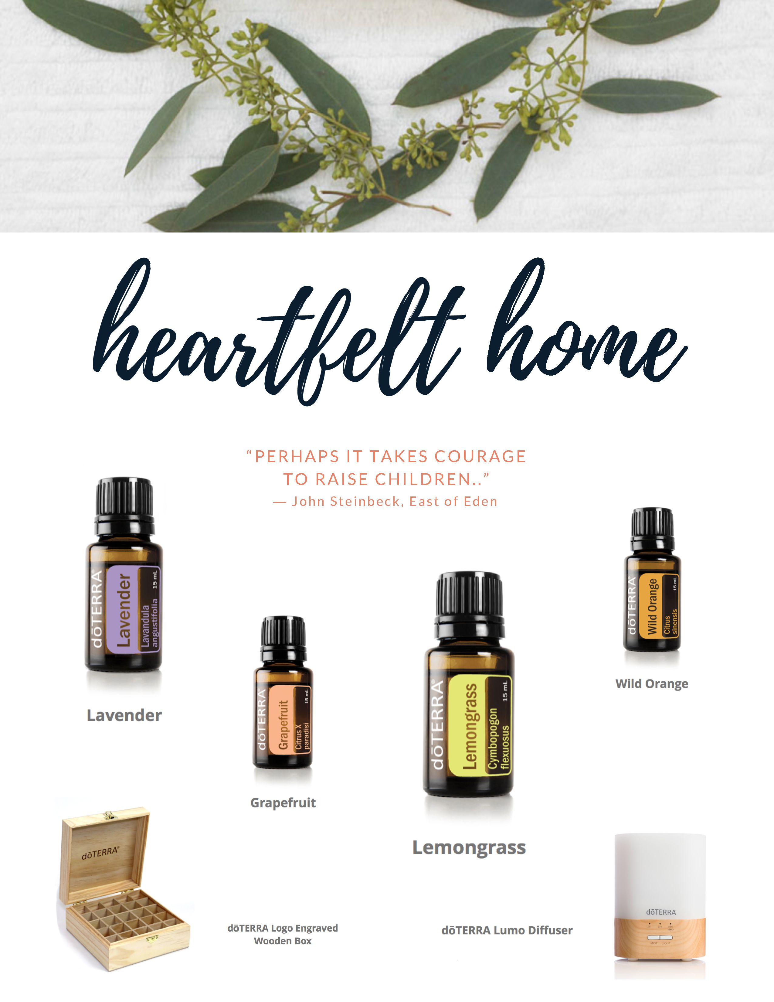 Favorite essential oils for the home
