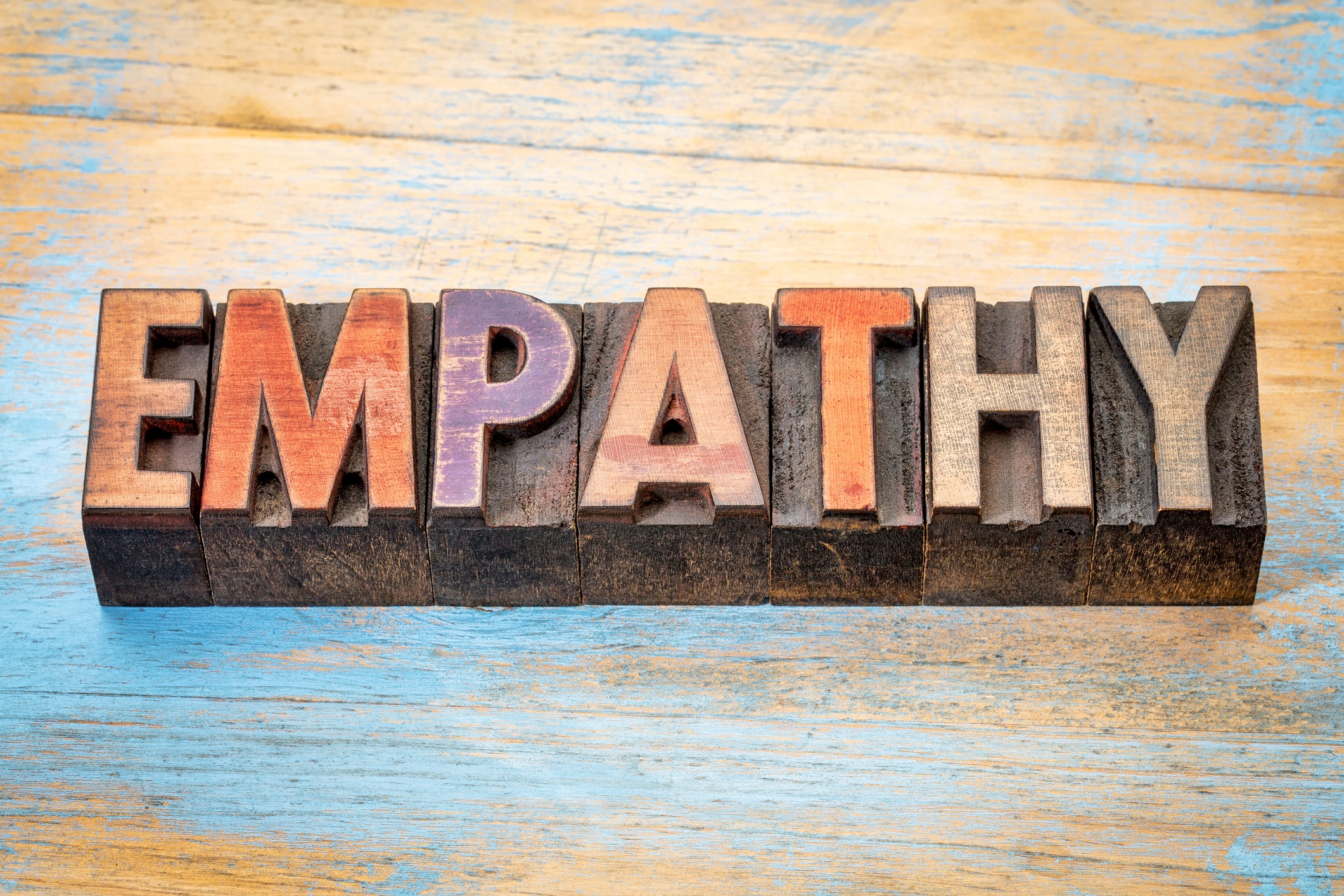 Three kinds of empathy are defined: emotional, cognitive, compassionate