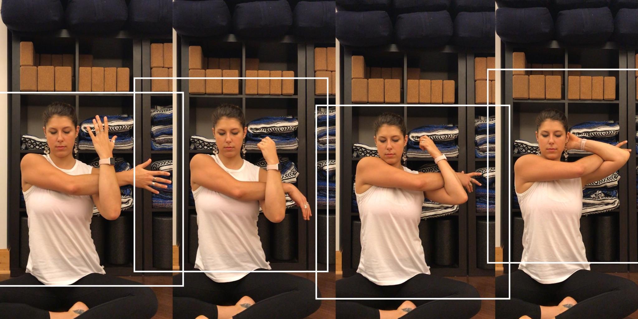 Shoulder Stretch to do at your desk