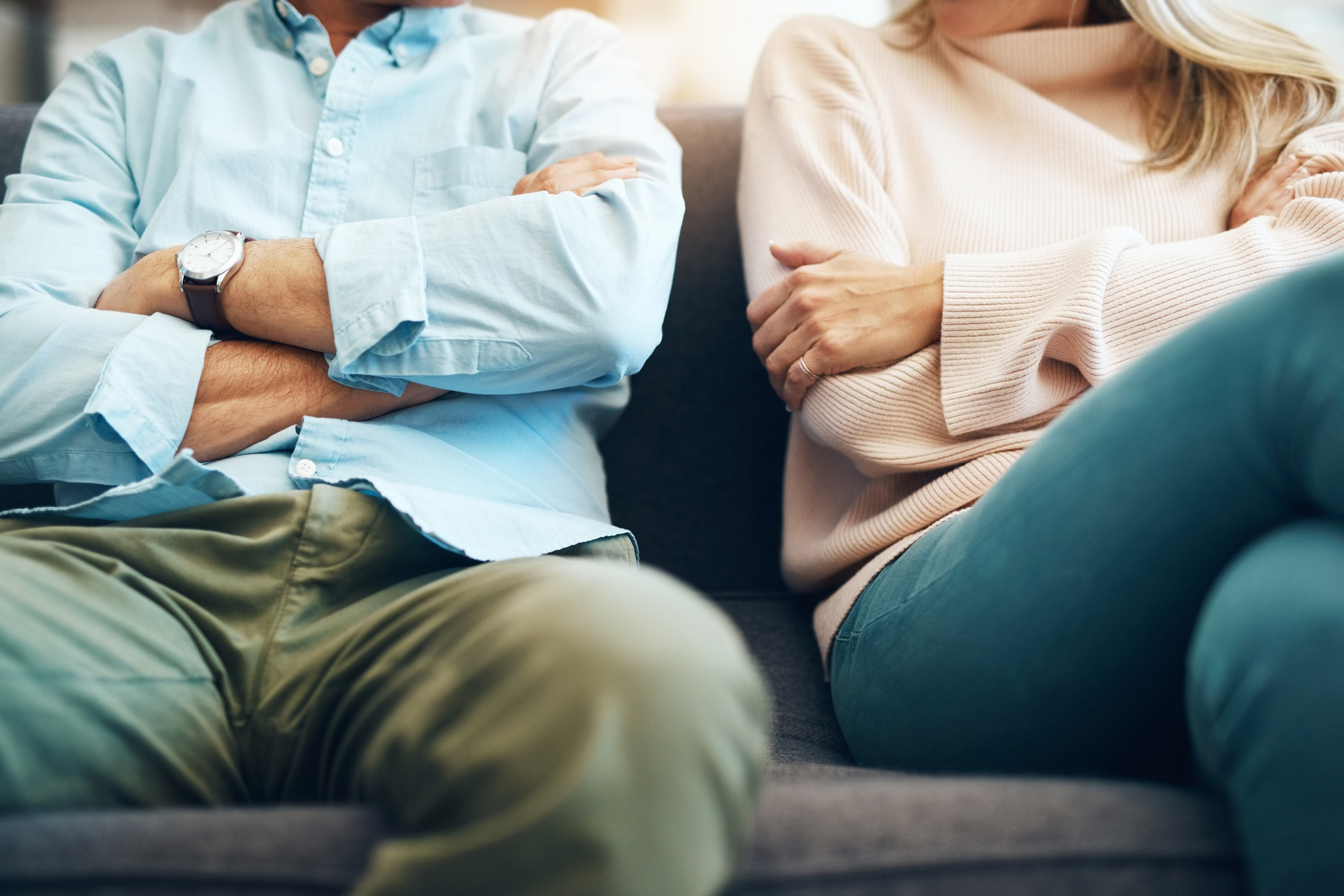 Anger closes off our connection in relationships