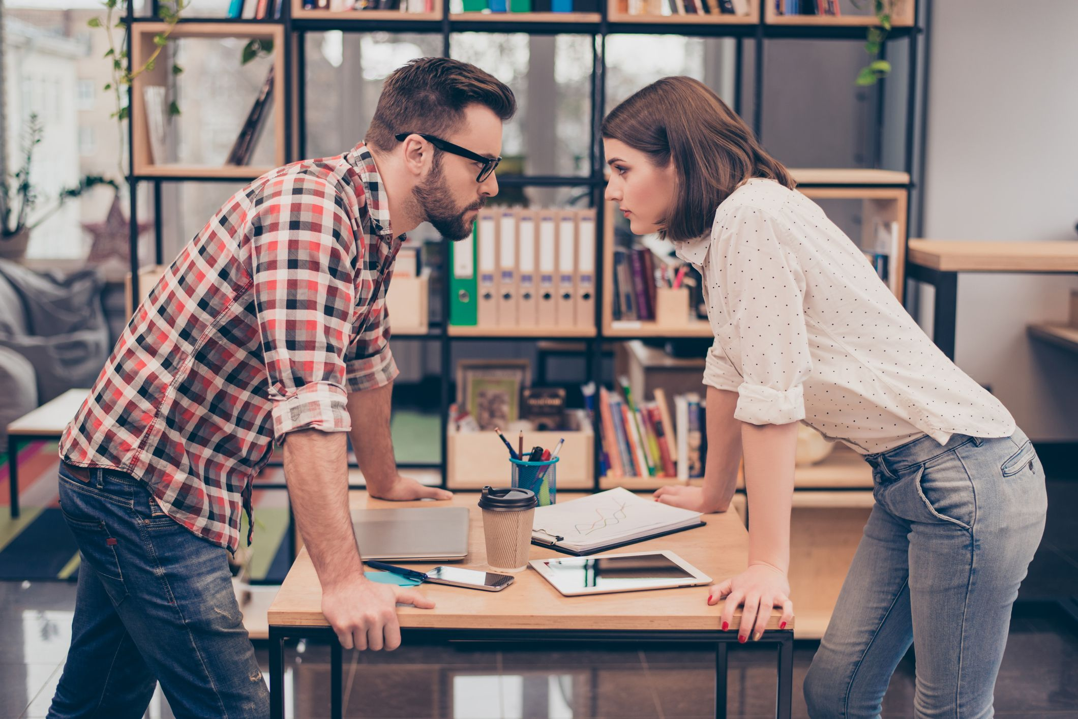 Conflict and quarreling created through blame