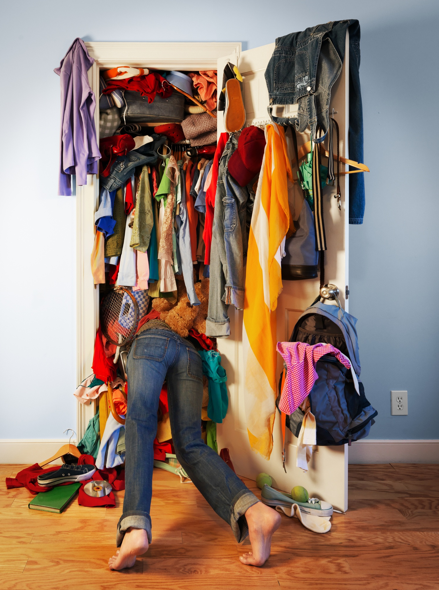 You're not a hoarder just because you have a mess