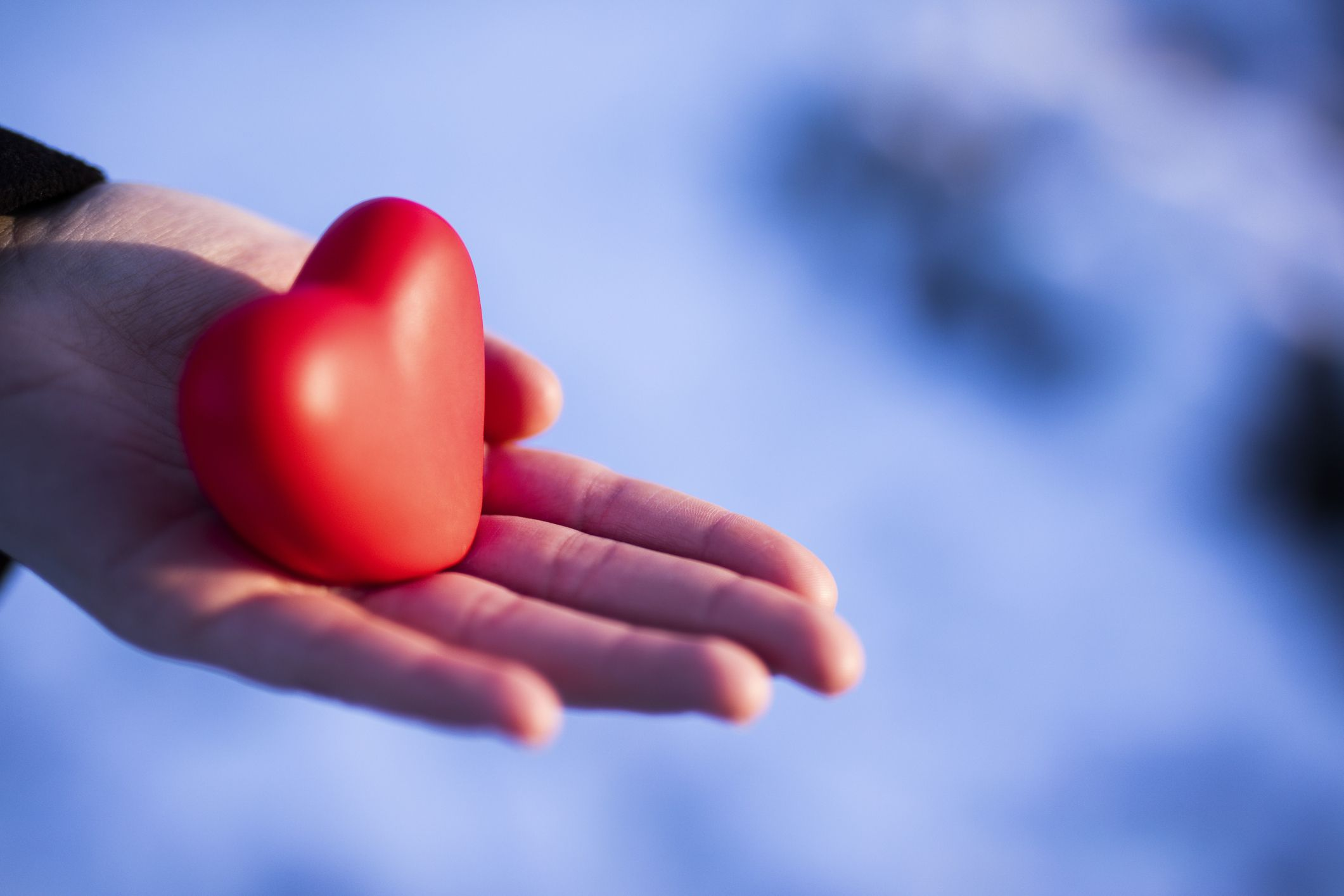 Compassionate empathy extends our heart to uplift others