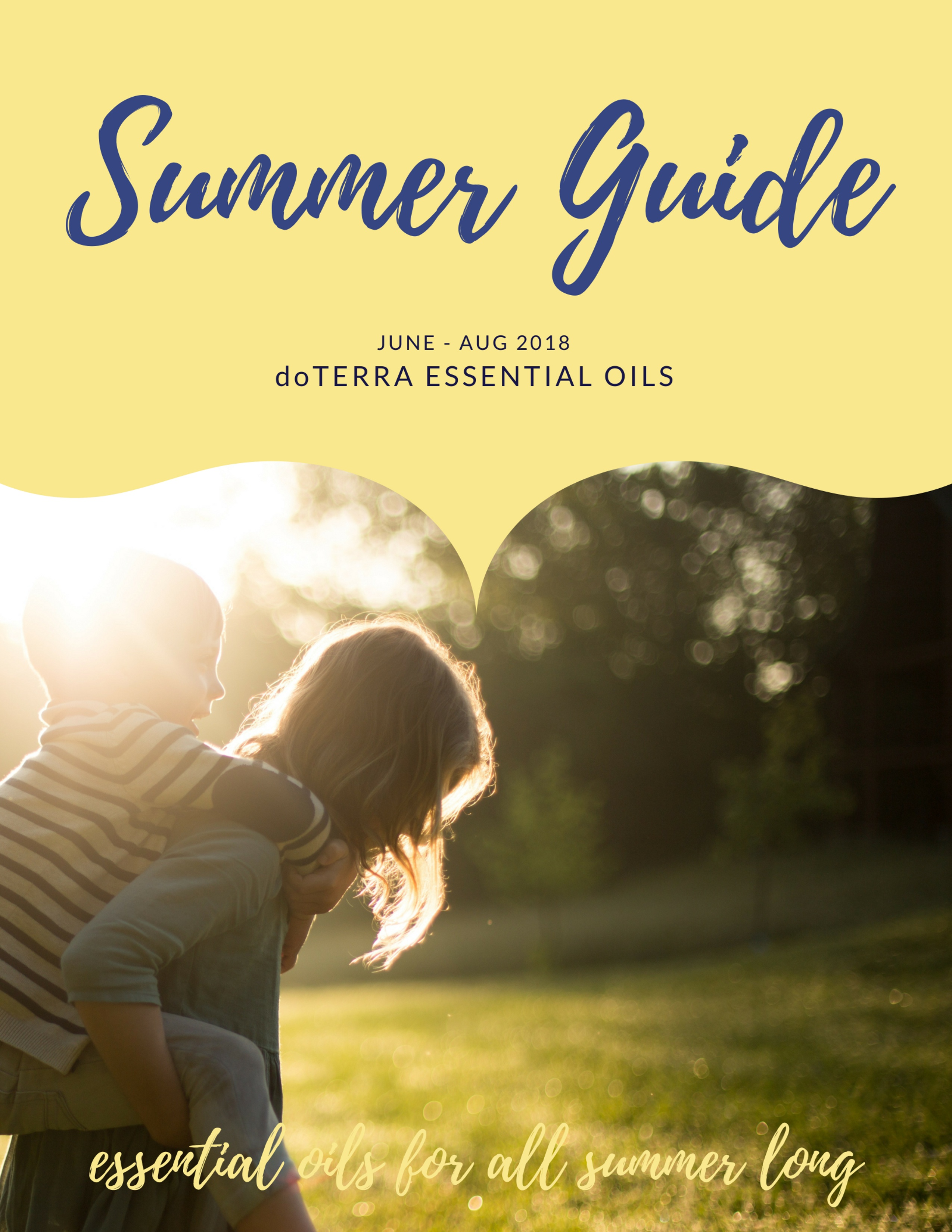Summer Guide to Essential Oils